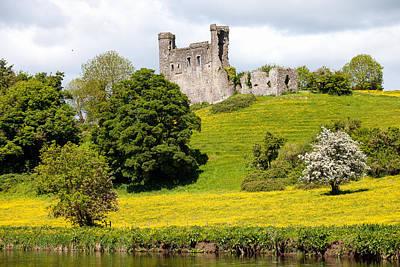 Dunmoe Castle Art Print by Peter McCabe