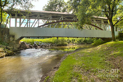 Photograph - Dunning Creek Under The Bridge by Adam Jewell