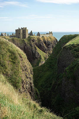 Photograph - Dunnottar Castle - by Georgia Mizuleva
