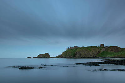Photograph - Dunnottar Castle On A Summer Night by Veli Bariskan
