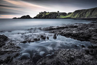 Dunnottar Dawn Art Print by Dave Bowman