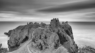 Photograph - Dunnottar Castle Sunrise by Grant Glendinning