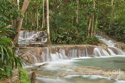 Photograph - Dunn's River Falls - Another View by Charles Kozierok