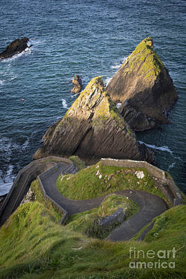 Photograph - Dunquin Harbor Morning by Brian Jannsen