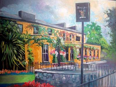 Painting - Dunraven Arms Hotel Adare Co Limerick Ireland by Paul Weerasekera