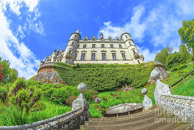 Photograph - Dunrobin Castle by Benny Marty