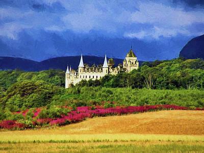 Castle Photograph - Dunrobin Castle by Marcia Colelli