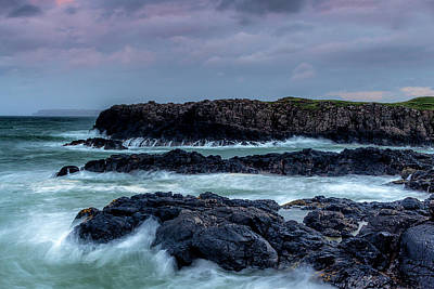 Photograph - Dunseverick Harbour by Glen Sumner