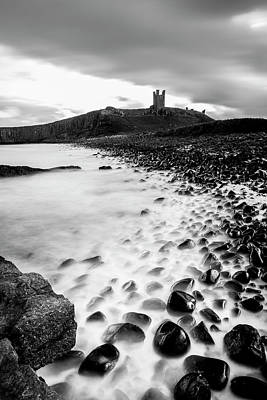 Photograph - Dunstanburgh Castle Coastline by Kelvin Trundle