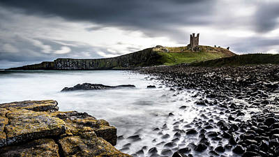 Photograph - Dunstanburgh Castle by Kelvin Trundle