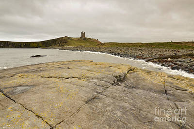 Northumberland Photograph - Dunstanburgh Castle by Smart Aviation