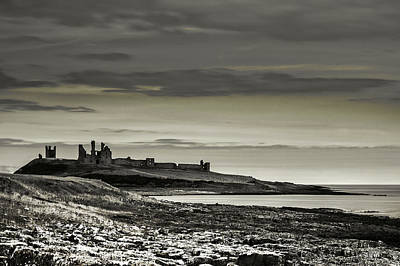 Photograph - Dunstanburgh by Ian Thompson