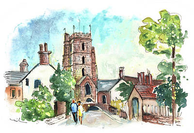 Painting - Dunster 07 by Miki De Goodaboom
