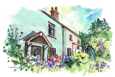 Painting - Dunster 08 by Miki De Goodaboom