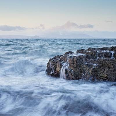 Photograph - Dunure Beach by Stephen Taylor