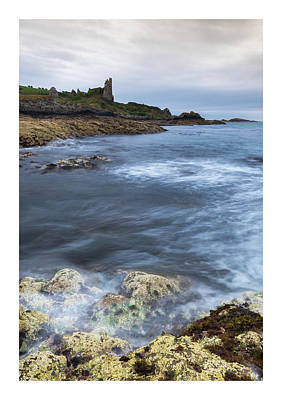 Fantasy Photograph - Dunure Castle Scotland  by Mark Mc neill