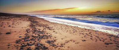 Photograph - Dunwich Beach by James Billings