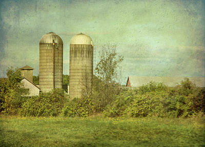 Photograph - Duo Silos  by Betty Pauwels