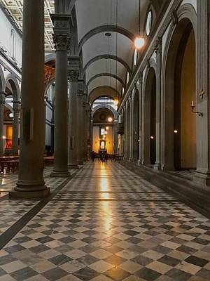 Photograph - Duomo Arches Florence Italy by Femina Photo Art By Maggie
