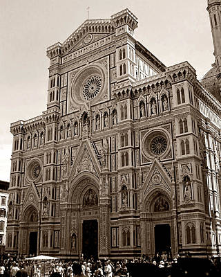 Photograph - Il Duomo Di Firenze by Steven Myers