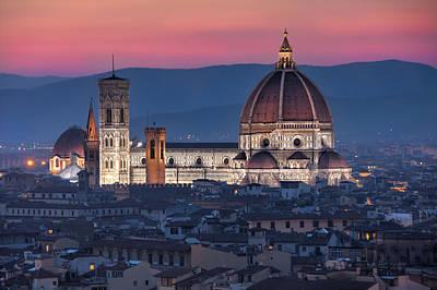 Photograph - Duomo Di Firenze by Brent Durken