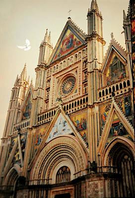 Orvieto Photograph - Duomo Di Orvieto by Diana Angstadt