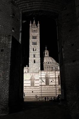 Duomo Di Siena Art Print by Carl Jackson