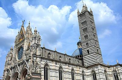 Photograph - Duomo Di Siena by Ramona Matei