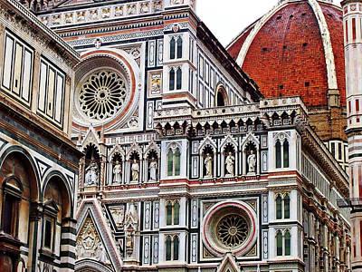 Photograph - Duomo Facade by Debbie Oppermann