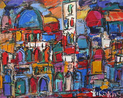 Painting - Duomo  Florence  by Len Yurovsky