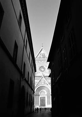 Orvieto Photograph - Duomo II by Artecco Fine Art Photography