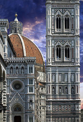 Photograph - Duomo In Florence by Al Hurley