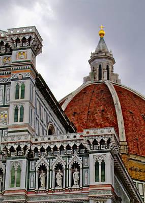 Duomo Art Print by Lynn Andrews