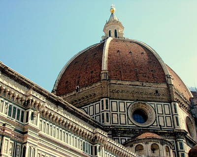 Photograph - Duomo Of Florence by T Guy Spencer