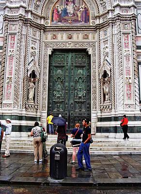 Photograph - Duomo Portal by Debbie Oppermann