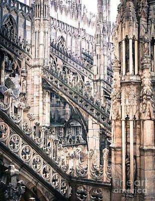 Photograph - Duomo_25 by Irenka Hammell