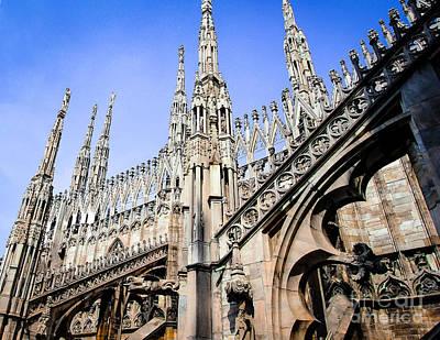 Photograph - Duomo_37 by Irenka Hammell