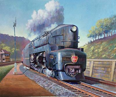 Painting - Duplex Express by Mike Jeffries