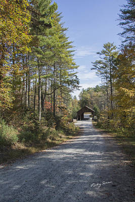 Photograph - Dupont Covered Bridge by Ricky Dean