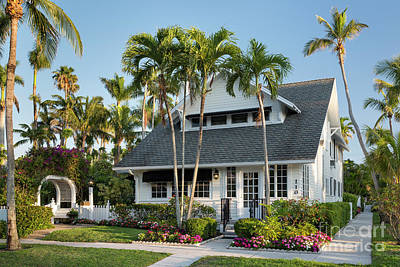 Photograph - Dupont Family Cottage - Naples by Brian Jannsen