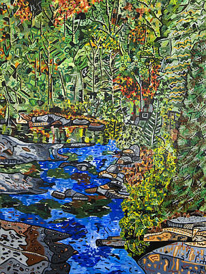 Dupont Painting - Dupont Forest by Micah Mullen