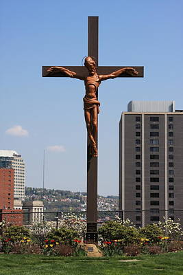 Photograph - Duquesne Cross by Andrew Romer