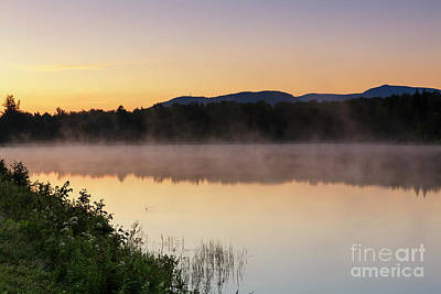 Photograph - Durand Lake Sunrise - Randolph New Hampshire by Erin Paul Donovan
