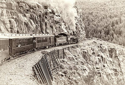 Photograph - Durango And Silverton Journey by Alan Toepfer
