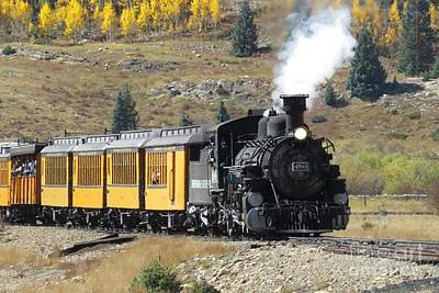 Photograph - Durango And Silverton Railway by Frank Townsley