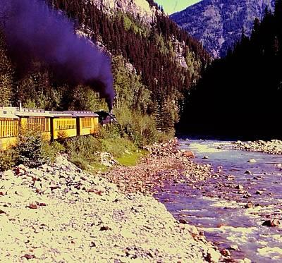 Photograph - Durango - Silverton Narrow Gauge Railroad by Christopher James