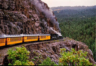 Photograph - Durango To Silverton Narrow Gauge by Robert Woodward
