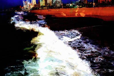 Photograph - Durban Beach by John Stuart Webbstock