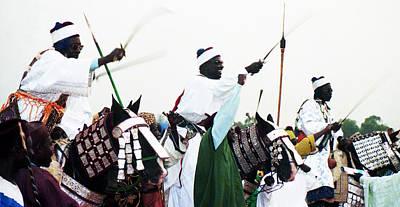 Oshun Wall Art - Photograph - Durbar Homage by Muyiwa OSIFUYE