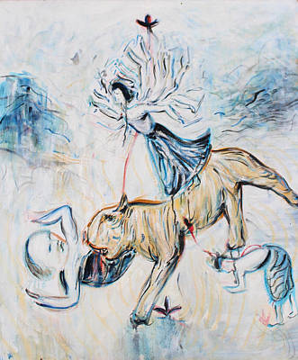 Durga Devi Original by Alexander Carletti